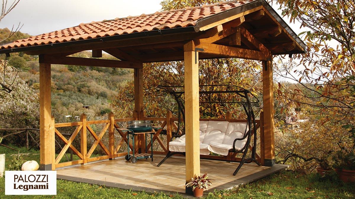 Palozzi legnami srl azienda specializzata nella - Gazebo giardino ...