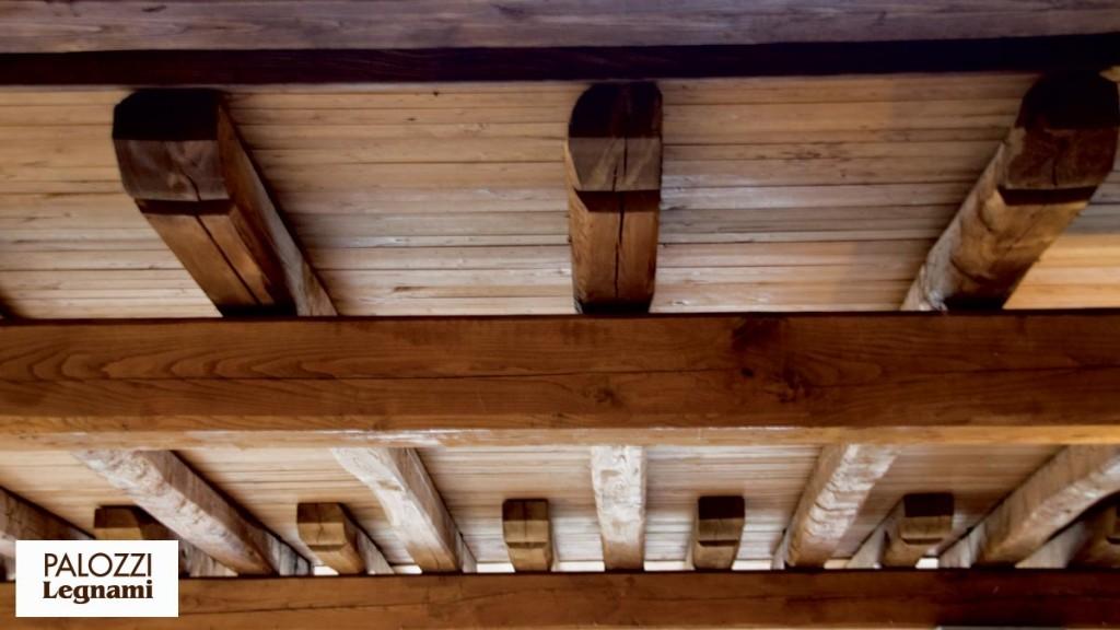 Travature palozzi legnami srl azienda specializzata for Costo delle travi a vista