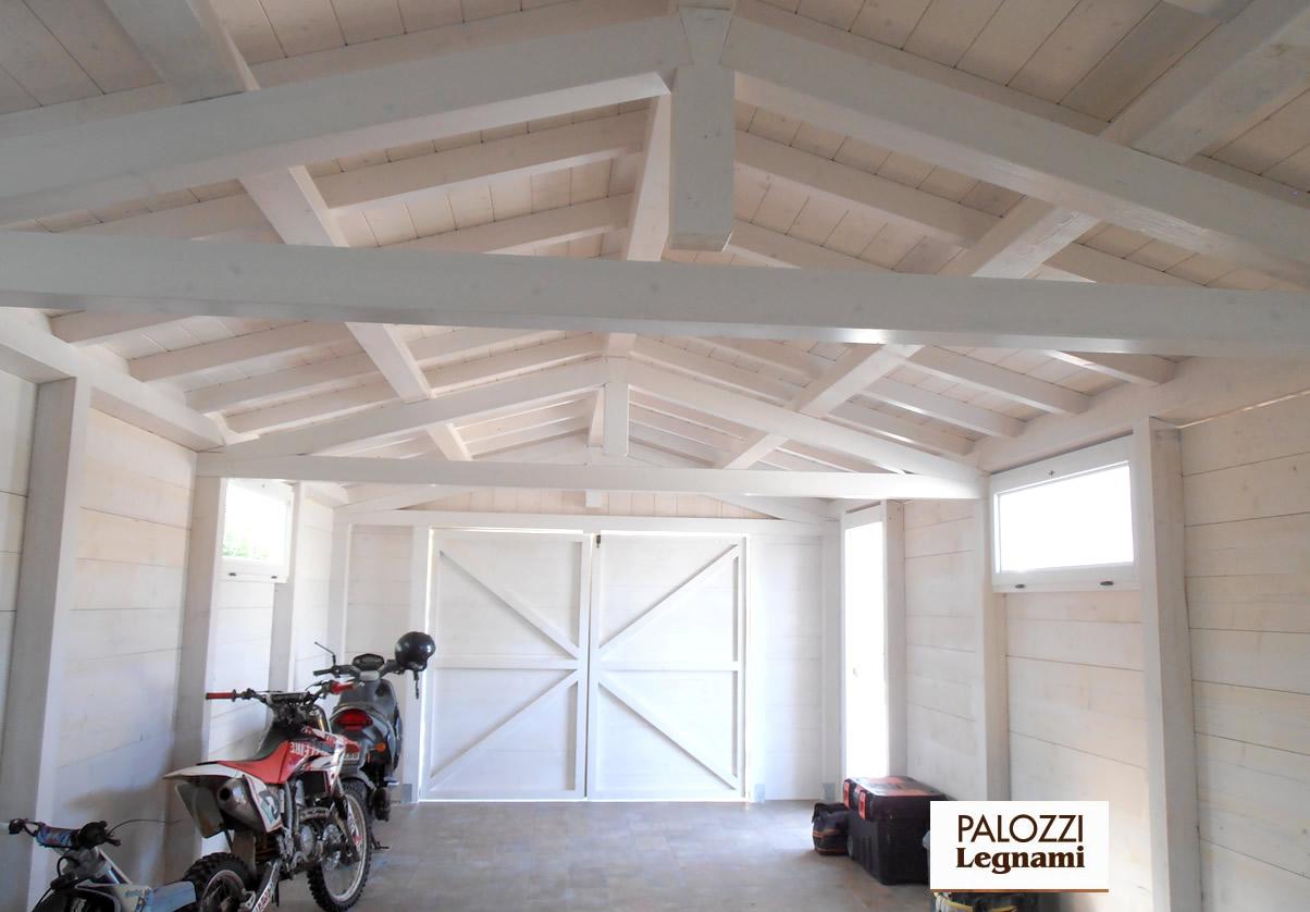 Free home news lamellare di abete white style palozzi - Tetto in legno bianco ...