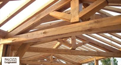 Struttura in legname di castagno